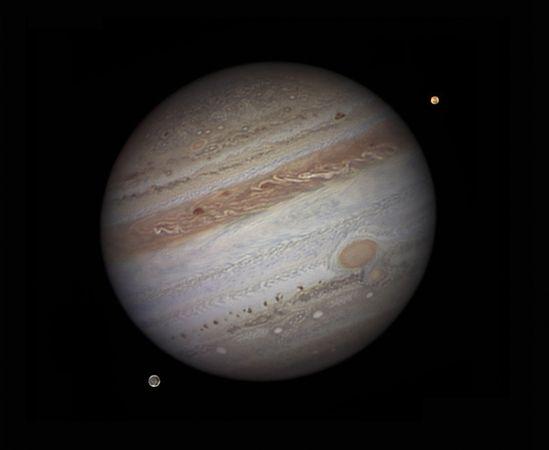 Carta do senhor Marius sobre Júpiter